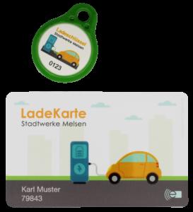 RFID Ladekarte, RFID Ladeschlüssel -IDENTA