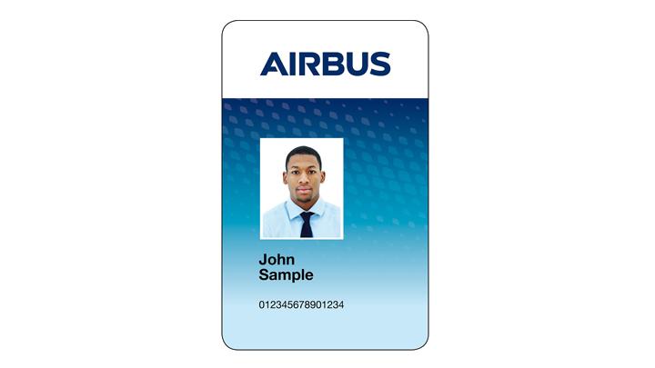 Mitarbeiterausweis AIRBUS