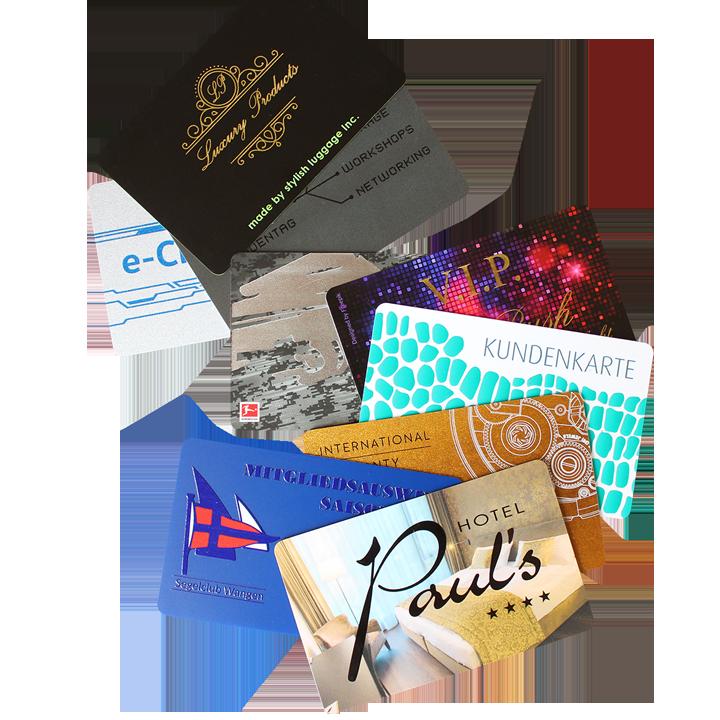 Kartenveredelungen
