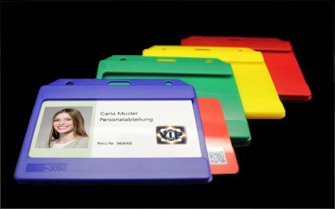 013183 Kartenhalter offen, doppelseitig belegbar